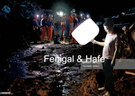 Handheld 200w Glare Free Led Lights For People Fall Into Water 911 Emergency Rescue