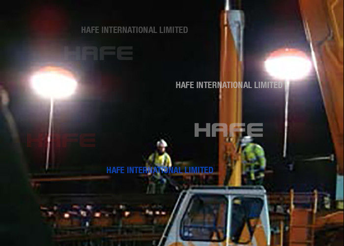 Flexible Emergency Safety Lights 5000W , HMI Temporary Emergency Lighting Homeland