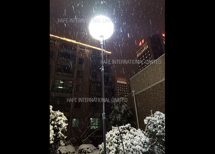 Medium Luminance Glare Free Lighting , 600W Balloon Anti Glare Led Lights In Snow Weather