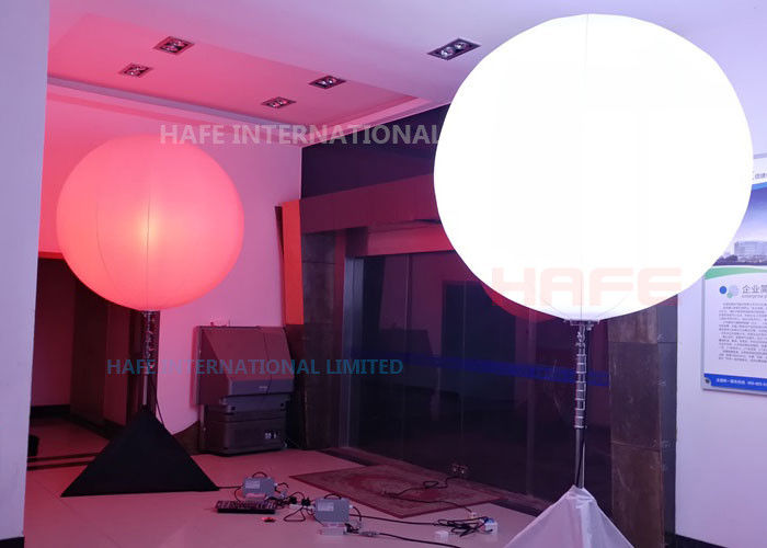 Crystal All In One LED Lighting Balloon , RGBW Balloon Lights Dimmable