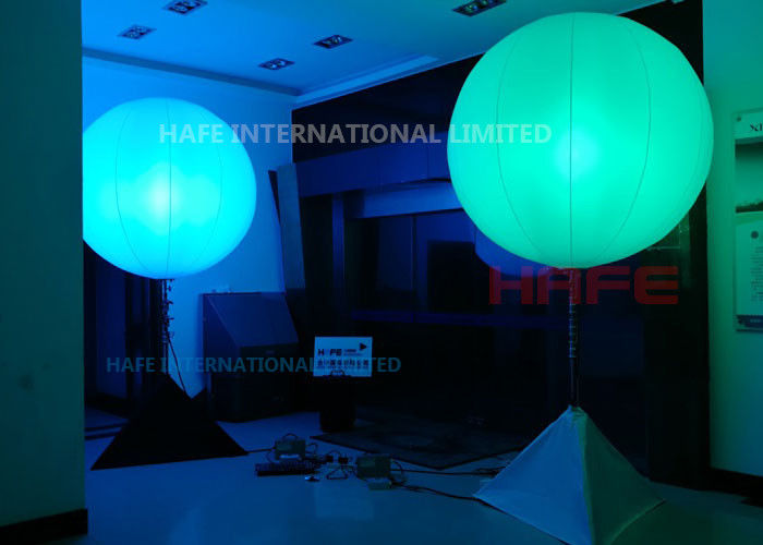 Outdoor Inflatable Lighting Decoration White Lighting To Coloured Lighting In One Wink