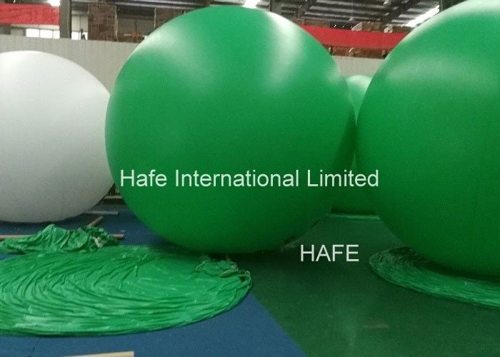 Advertising Helium Balloon Lights , 2.5m Big Size Helium Balloons With Lights Inside