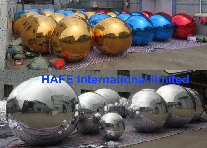 Events Use Stage Fashion Show Inflatable Mirror Balloon In 1m -3.5m Diameter
